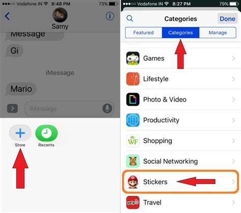 How To Send Stickers On Imessage
