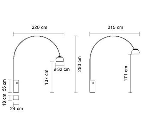flos arco floor l ebay neuf le arco flos castiglioni design original italie ebay