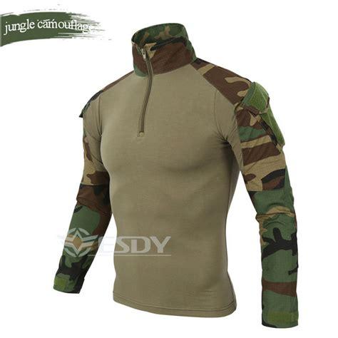 T Shirtbajukaospolotshirtua Tactical 1 wholesale esdy brand camouflage sleeve frog suit