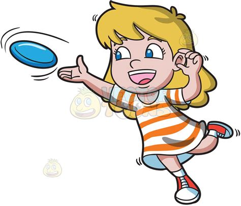 frisbee clipart a leans forward to throw a frisbee clipart