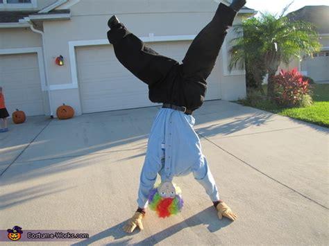 upside  guy illusion halloween costume photo