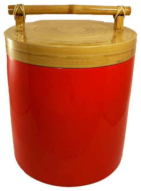 large kitchen canisters bodhi tree collections bamboo canister with bamboo handle