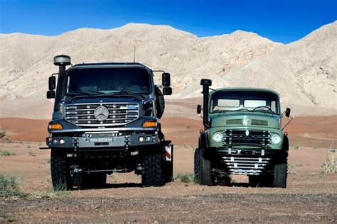mercedes truck 2016 2016 mercedes zetros heavy hauler combines