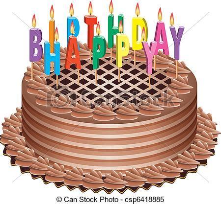 candele torta torta candele compleanno urente vettore candele