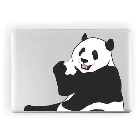 Sticker Apple panda apple laptop sticker