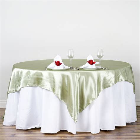 table overlays for wedding reception 90x90 quot square satin table overlay wedding reception