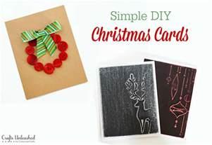 diy card ideas simple crafts unleashed