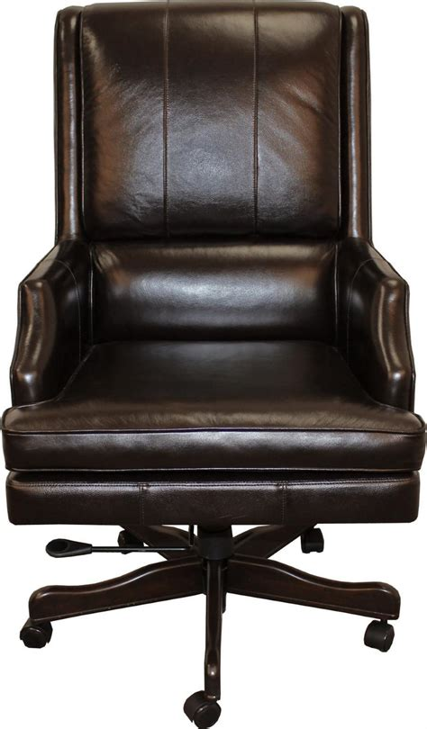 executive desk chair leather easton leather desk chair morris home