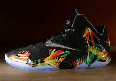 the new lebron sneakers quot everglades quot nike lebron 11 sneakernews