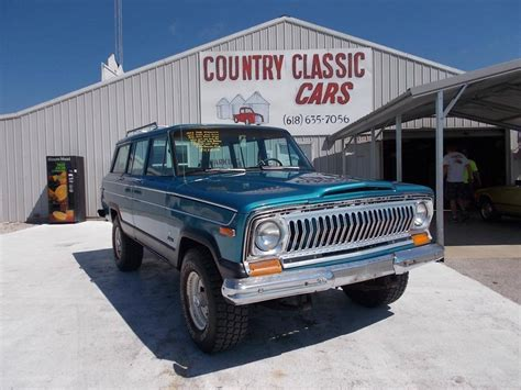 jeep wagoneer for sale 1976 jeep wagoneer for sale 1854746 hemmings motor news