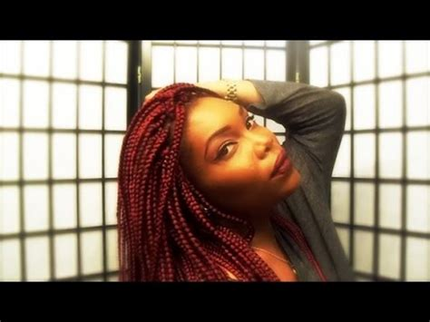 red and black poetic justice braids red poetic justice braids box braids youtube