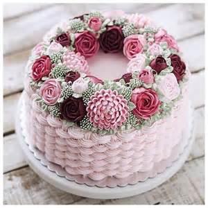 cake flower decorations beautiful buttercream flower cake cake decorating