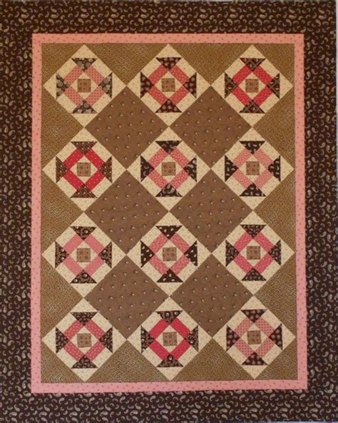 Brown Patchwork Quilt - 78 best images about pink brown quilts on