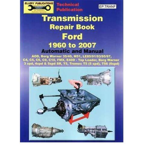 mend books transmission repair book sagin workshop car manuals