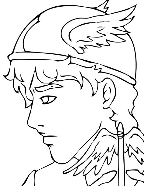 god coloring pages mythology printable coloring pages