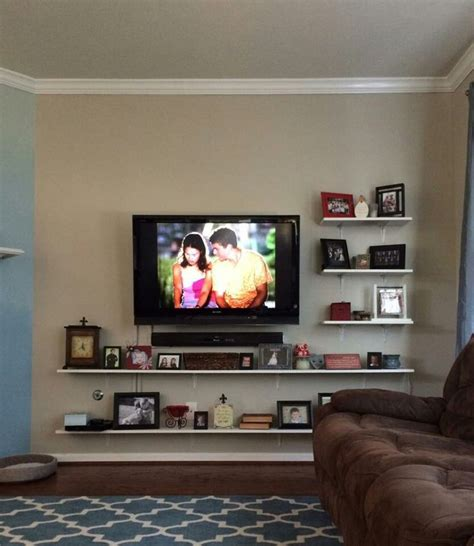 tv mounting ideas in living room best 25 mount tv ideas on pinterest mounted tv wall
