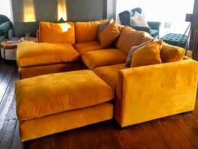 yellow velvet sofa endearing green velvet sofa uk about