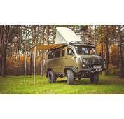 """2012 UAZ 452 2206 """"Bukhanka"""" Offroad Camper / Wohnmobil Kult"""