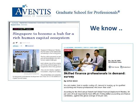 Aventis School Of Management Mba by Aventis School Of Management Graduate Diploma