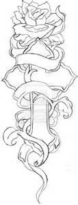free download drawings crosses ribbons roses cross rose