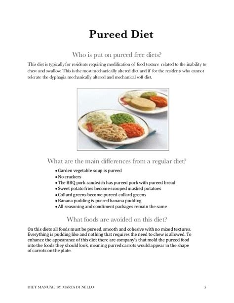 2014 long term care diet manual inservice long term care