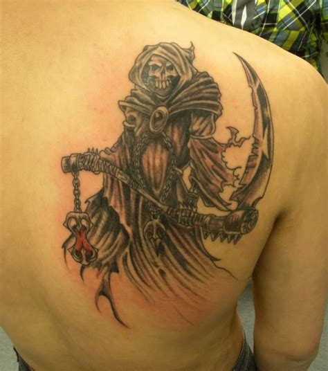 reaper tattoo grim reaper tattoos page 5