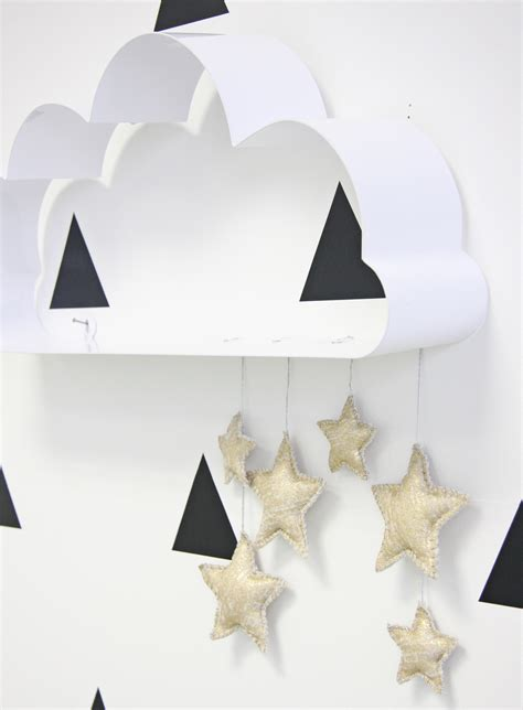 nursery cloud decor project nursery