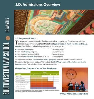Jd Mba At Csu by Jd Admissions Overview 2015 By Southwestern School Issuu