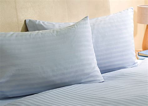 light blue double duvet cover double sateen stripe duvet cover light blue review