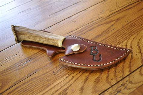 Handmade Knife Makers - custom made knife sheaths images