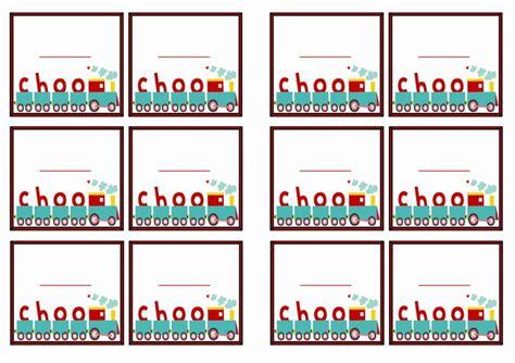 printable name tags pinterest train name tags themed name tags free printables