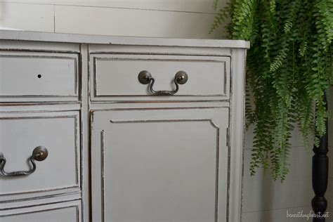 chalk paint vanity how i painted my vanity with sloan chalk paint