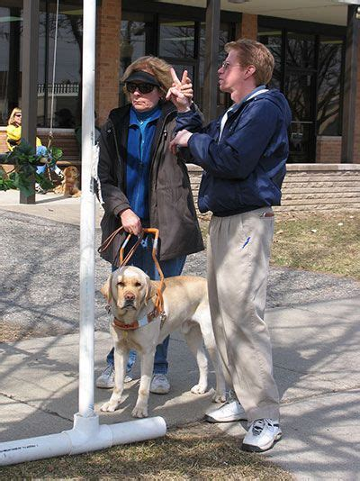 deaf and blind dogs 17 best images about leader dogs for the blind on