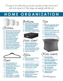 home checklist from stylecaster