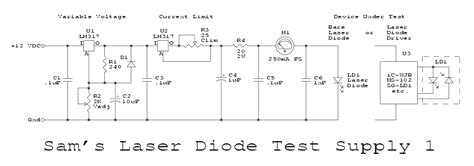 laser diodes polarity driver circuit for dvd burner diode laser