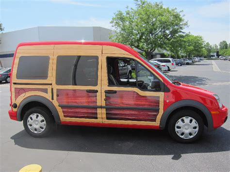 ford transit connect custom vehicle wrap