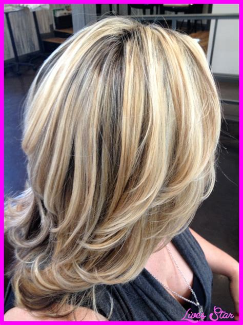 dirty blonde hair with black highlights dirty blonde hair with blonde highlights livesstar com