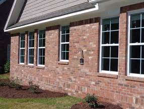 Vanity Examples These Windows Are Framed By A Soldier Course Water Table