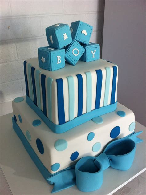 boys baby shower cakes to dream on