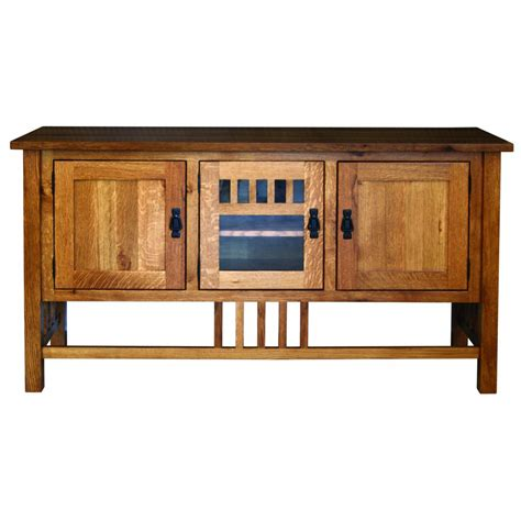Mission Style Tv Cabinet by Classic Mission Style Tv Stand 60 W Amish Crafted Furniture