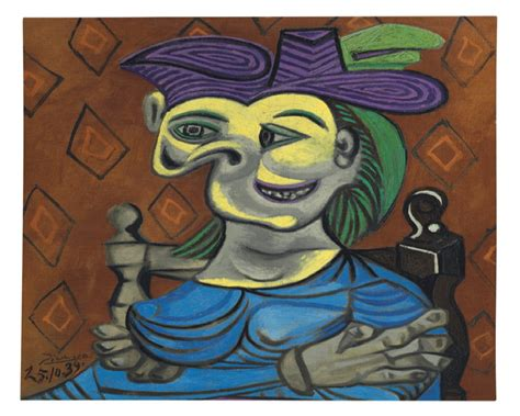 picasso paintings maar christie s to auction extraordinary picasso portrait of