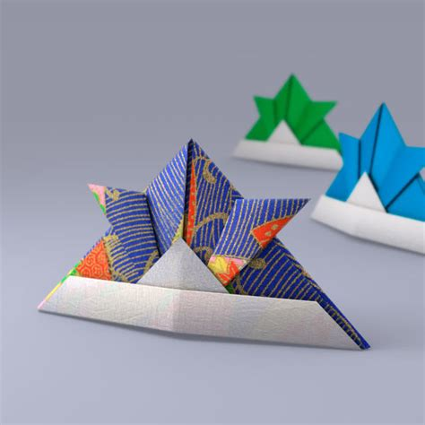 Japanese Craft Paper - 3d model japanese papercraft