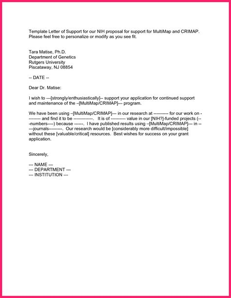 goodly letter of support template letter of support template bio letter format