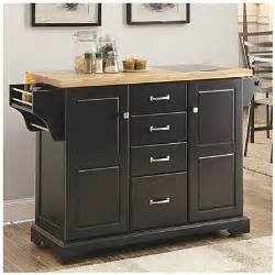 black kitchen cart big lots