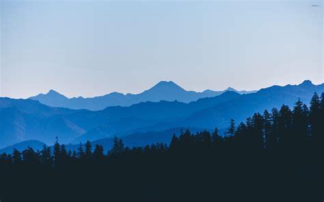 Mountain To Mountain blue mountains wallpaper nature wallpapers 42322