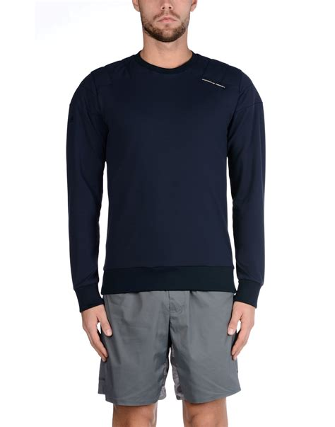 porsche clothing lyst porsche design sweatshirt in blue for men