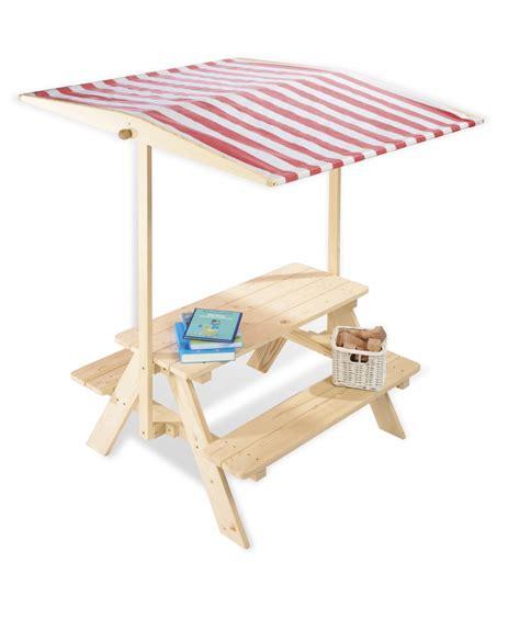 table ext 233 rieure pour enfant en pin massif avec bancs