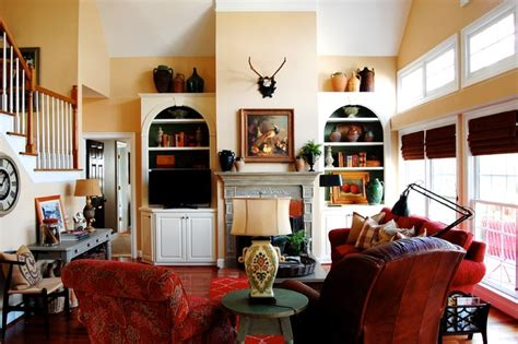 Houzz Living Room Farmhouse My Houzz Country Meets Southern Farmhouse Style In