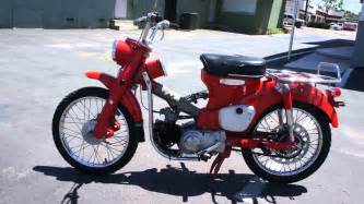 Honda 90 Dirt Bike 1964 Honda 90 Trail Motorcycle Classic Dirt Bike Moped