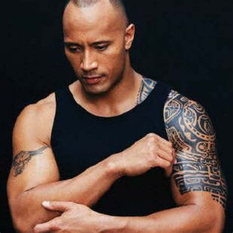 dwayne johnson polynesian tattoo the rock 2014 images desktop backgrounds for free hd